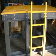 Fibergrate® Platform Fabrication
